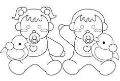 Artes da Nique: Riscos de Bebê