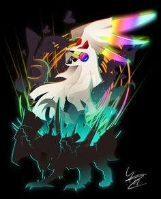 Design of Silvally breaking out of Type: Null's body. It's more a symbolic piece to describe Silvally finally being free a. Silvally: Breaking Out Pokemon Fan Art, Old Pokemon, Pokemon Comics, Pokemon Memes, Pokemon Sun, Cute Pokemon, Real Pokemon, Pokemon Fusion, Pokemon Alola Region