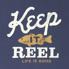 Men's Keep It Reel Go-To Crew Sweatshirt