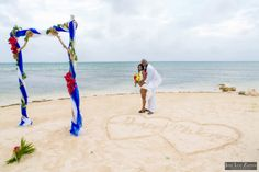 Intimate Coco Beach Belize Wedding | Ambergris Caye Beach Wedding | Jose Luis Zapata Photography