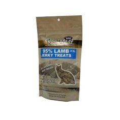 THE REAL MEAT COMPANY 828112 Cat Jerky Lamb Treat, 3-Ounce -- See this great product. (This is an Amazon affiliate link)