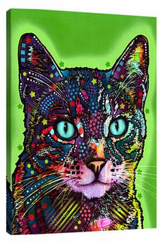 Watchful Cat Canvas Print