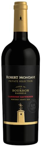 Robert Mondavi Bourbon Barrel Aged Cabernet Sauvignon... smooth wine. needs to be slightly chilled but not cold. Very nice sipping wine.