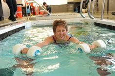 Aquatic Workout #therapypool #aquatictherapy #physicaltherapy