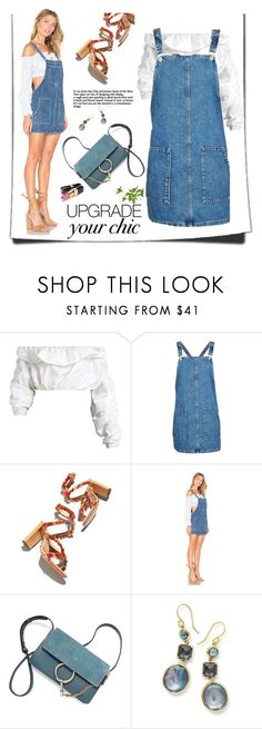 """""""Untitled #162"""" by craftsperson ❤ liked on Polyvore featuring E L L E R Y, Topshop, Chloé, Tularosa, Ippolita and showsomeshoulder"""