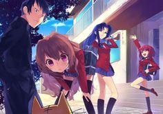 Anime Toradora!  Taiga Aisaka Fondo de Pantalla