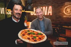 Founder and CEO Friedemann Findeis and Klaus Rader | L'Osteria | Pizza E Pasta