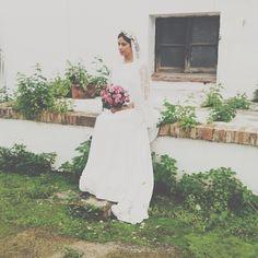Seguimos de #shooting! #aniburech #bridal #nuevacoleccion