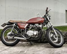 Kawasaki KZ400 Brat Style – Rubén Gonzalez