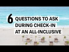 6 Important Things to Ask When Checking Into an All-Inclusive Resort | Oyster.com | Oyster.com