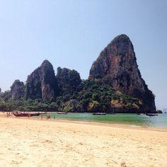 The L resort Krabi último día de playa..  #railaybeach #krabi #thailand