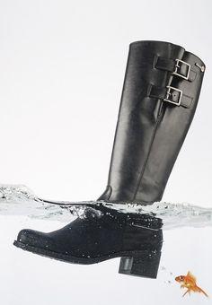 Botas impermeables ¡y transpirables! Son las Wonders Dry