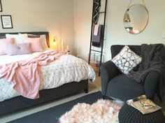 A serious Kmart lover!  This master bedroom is a little oasis
