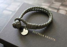 Bottega Veneta bracelets are just beautiful.