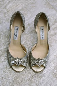 bf21bfe94b65 Perfect shoes for a bride on her wedding day by Jimmy Choo.