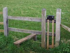 Stile with dog gate OS - Stile - Wikipedia, the free encyclopedia Arbor Gate, Outdoor Shelters, Fence Screening, Future Farms, Horse Barns, Horse Stalls, Horses, Building A Fence, Dry Stone