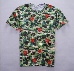 Comme Des Garcons x Bape Shirt Bape Shirt, Comme Des Garçons Shirt, Comme Des Garcons, Embedded Image Permalink, Cool Outfits, Short Sleeves, Button Down Shirt, Men Casual, Shopping