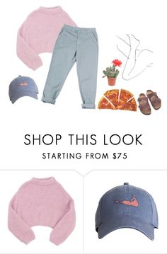 """lyla"" by pizzamilkshake ❤ liked on Polyvore featuring Lala Berlin, Monki and Birkenstock"