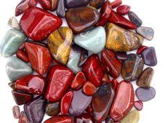 How To Get Started With Rock Tumbling / Rex Trulove Jasper Rock, Jasper Stone, Red Jasper, Minerals And Gemstones, Rocks And Minerals, Rock Tumbling, Beach Stones, Gem Stones, Rock Hunting
