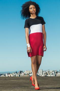 #gverri #gverristore #vestido  #listrado #fashion #moda #verão14