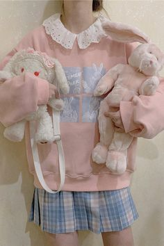 Harajuku Fashion, Kawaii Fashion, Lolita Fashion, Cute Fashion, Fashion Outfits, Aesthetic Fashion, Pink Aesthetic, Aesthetic Clothes, Pastel Outfit