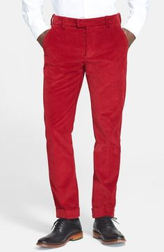 Michael Bastian Wide Wale Corduroy Pants available at #Nordstrom