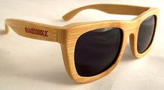 Bambooholic Pop is 100% made of biodegradable, high quality bamboo and polarized lenses with UVA 100 and UVB 400 protection, branded on both arms, ...