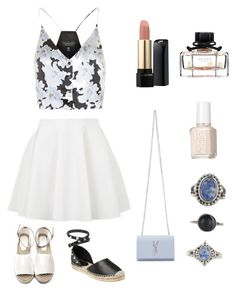 lighty by fatimah42 on Polyvore featuring polyvore, fashion, style, Topshop, Ash, Yves Saint Laurent, Lovisa, Lancôme, Gucci, Essie and clothing