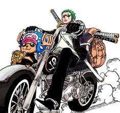 Roronoa Zoro and Tony-Tony Chopper One Piece Manga, One Piece Series, Zoro One Piece, One Piece Fanart, Zoro And Robin, Nico Robin, One Piece Images, One Piece Pictures, Roronoa Zoro