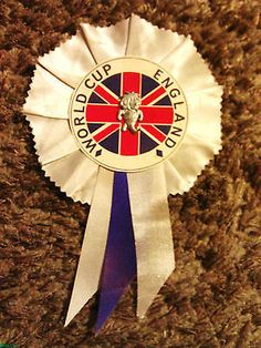 England 1966 football #world cup #rosette, silver #world cup #willie centre,  View more on the LINK: http://www.zeppy.io/product/gb/2/272278268859/