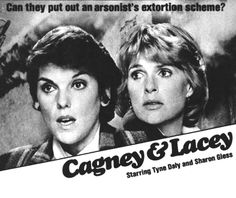 Detail from 1985 Advertisement for the Cagney & Lacey Television Series Famous Film Quotes, Tyne Daly, Cagney And Lacey, Old Tv Shows, Classic Tv, Comedians, Childhood Memories, Growing Up, Favorite Tv Shows
