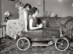 1924 pedal car.
