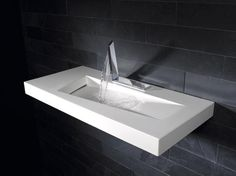 Love this sink and faucet! #bathroom