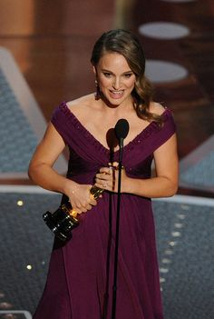 Revisit Iconic Moments From Oscars History: A pregnant Natalie Portman accepted her best actress award for Black Swan in 2011 #Oscars