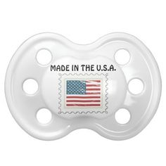 Made in the U.S.A. Baby Pacifier