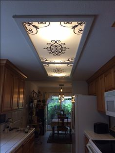 13 best fluorescent light cover images kitchen lighting backyard rh pinterest com