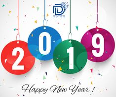 Beautiful Happy New Year 2019 text festival background Vector Share Pictures, Blue Pictures, Happy New Year 2019, New Year Wishes, Happy New Year Love, Animated Gifs, Festival Background, Wood Painting Art, Anita