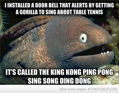 Bad Joke Eel's Alarm Bell Joke