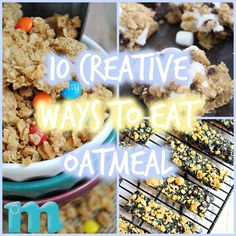 10 Super Creative Ways to Eat Oatmeal for National Oatmeal Month