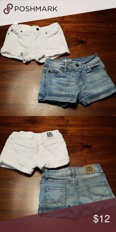 Dkny girls shorts size 4 DKNY shorts.  Girls size 4.  Excellent condition.  $6 each or 2 for $10 Dkny Bottoms Shorts
