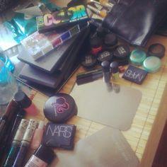 Makeup Set Up: Preparing for the Nicole Kwon + Karen Walker event
