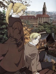 Edward Elric and Alphonse Elric Fullmetal Alchemist Mustang, Fullmetal Alchemist Alphonse, Alphonse Elric, Fullmetal Alchemist Brotherhood, Manga Anime, Anime Art, Anime Plus, Elric Brothers, Arte Sailor Moon
