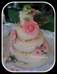 Torta x anniversario di matrimonio