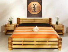 bamboo wood bedroom furniture - Ideas to Use Bamboo Bedroom Furniture for a Pleasant Look – Home Design Cane Furniture, Bamboo Furniture, Unique Furniture, Furniture Design, Furniture Ideas, Furniture Dolly, Furniture Movers, Furniture Online, Discount Furniture