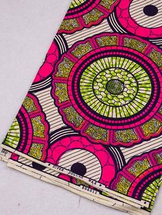 wax print fabric http://www.africanpremier.com/6-yards-cotton-african-fabric-super-deluxe-wax-print-sw806011.html