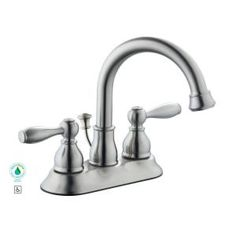 Glacier Bay Mandouri 4 in. Centerset 2-Handle High Arc Bathroom Faucet in Chrome-67513-6001 at The Home Depot $46