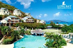 Tortola... Very lush and green British island. Not all the Carribean islands have enough to do for a weeks stay, but Tortolla has plenty.