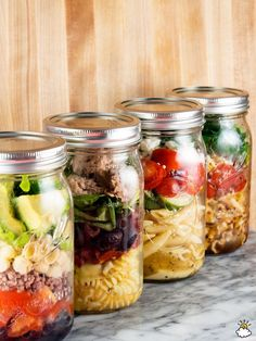 These Mason Jar Pasta Salads Will Completely Alter The Way You Eat Lunch