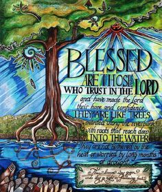 Image result for illustrated faith jeremiah 17:7-8 illustration