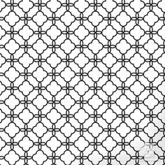 Use bold colors to highlight the geometric pattern of our Eastern Lattice Moroccan Craft Stencil on small DIY projects. This craft stencil adds a small touch of